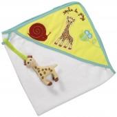 Cape de bain Sophie la girafe (70 x 70 cm) - Sophie la Girafe