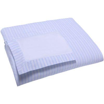 Housse de couette et taie d'oreiller garda bleu (90 x 140 cm)