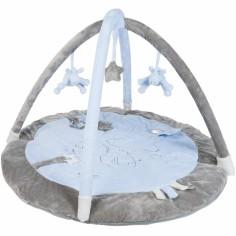 Tapis d'�veil avec arches Poudre d'�toiles bleu (50 x 70 cm) - Noukie's