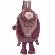 Sac � dos personnalisable Chat Les Zazous - Moulin Roty