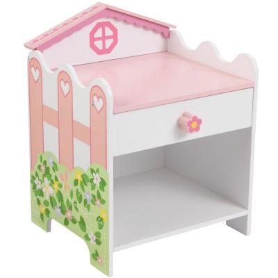 Table de chevet maison de poupées