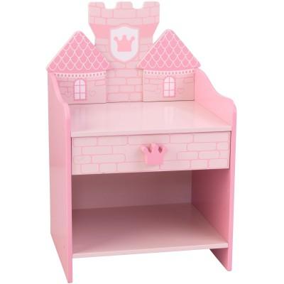 Table de chevet château de princesse