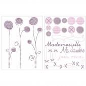 D�cors muraux repositionnables Po�me - Candide