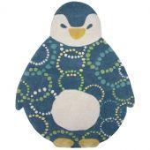 Tapis enfant pingouin Gaston (100 x 130 cm)  - Nattiot