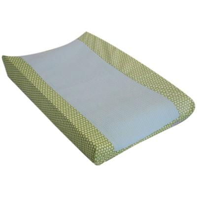 Housse de matelas à langer clouds vert (50 x 70 cm)