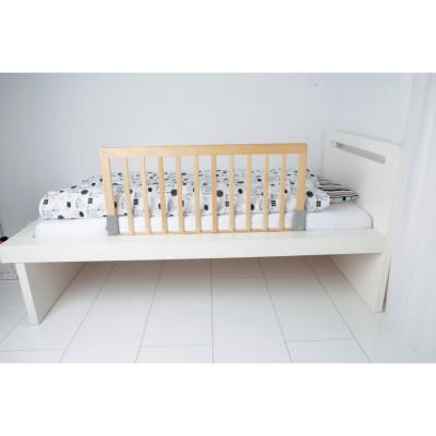 barrire de lit en bois naturel babydan berceau magique. Black Bedroom Furniture Sets. Home Design Ideas