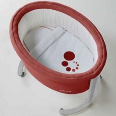 Berceau Smart panier Mo�se rouge avec support au choix - Micuna