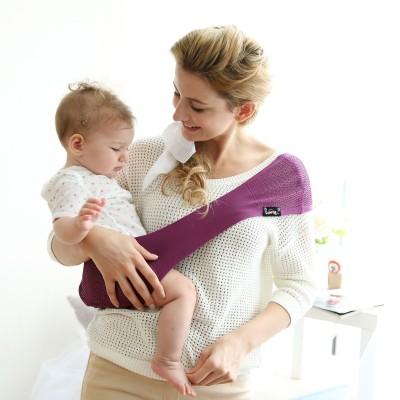 Porte-bébé suppori mauve (taille m)
