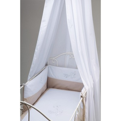 voile de lit bebe achetez un voile de lit b b chez berceau magique. Black Bedroom Furniture Sets. Home Design Ideas