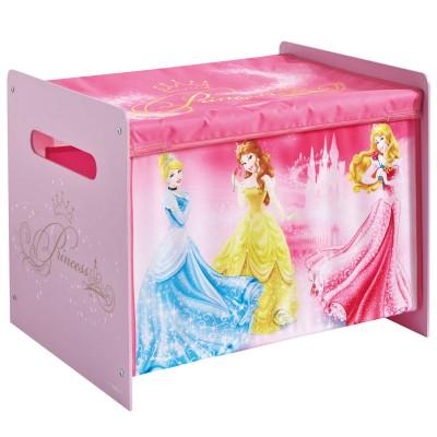 Coffre à jouets premium Disney Princesses