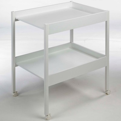 Mobilier table table a langer bois blanc for Table bois blanc