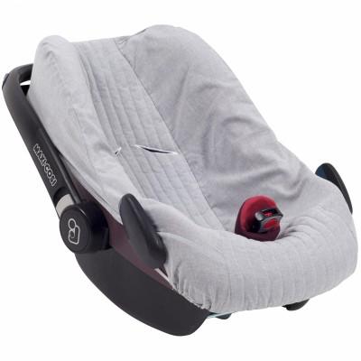 Housse de cosy sirène grey pour siège-auto pebble