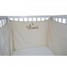 tour de lit nounours pour lits 60x120 et 70 x 140cm. Black Bedroom Furniture Sets. Home Design Ideas