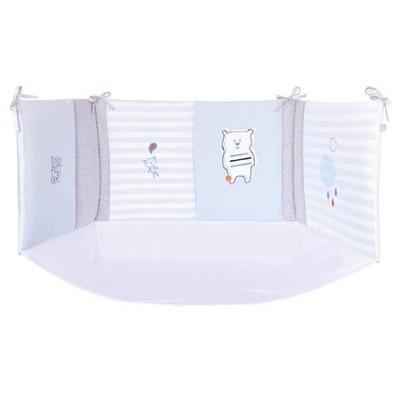 tour de lit sucre dorge moins cher parentmalins. Black Bedroom Furniture Sets. Home Design Ideas