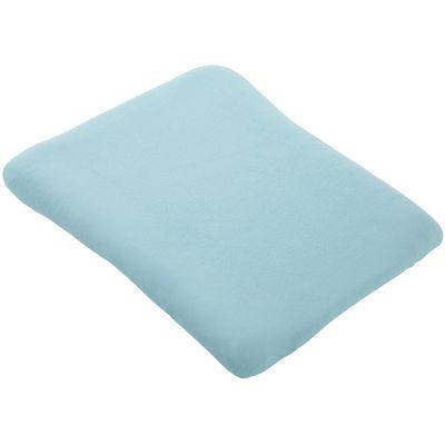 Housse de matelas à langer bleu aqua (50 x 75 cm)