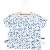 Tee-shirt manches courtes Indigo (Naissance : 50 cm)  - Snoozebaby