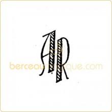 Gravure d'initiales sur orf�vrerie (mod�le 52)  par Atelier de gravure