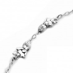 Bracelet enfant Danseur (argent 925� rhodi�) - Orf�vrerie de Cr�vigny