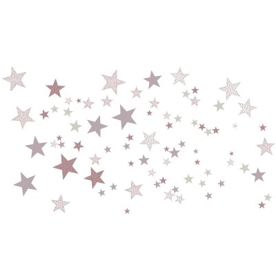 Stickers etoiles constellation rose art for kids - Stickers etoiles chambre bebe ...