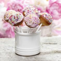 Tableau gourmand Pot Cakepops (30 x 30 cm) - Artis