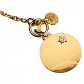 Bracelet Le Petit Prince dans le d�sert et breloque diamant (or jaune 750� et diamants) - La Monnaie de Paris