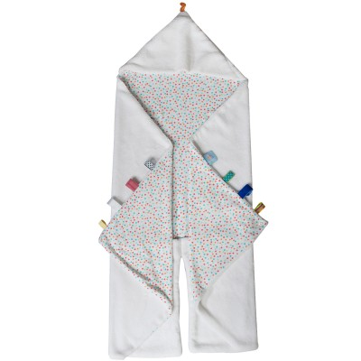 Couverture nomade trendy wrapping confetti white (0-12 mois)