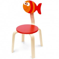 Chaise Maurice le poisson - Scratch