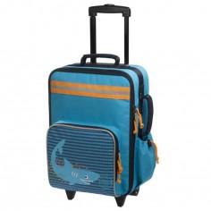 Valise trolley Requin bleu - L�ssig