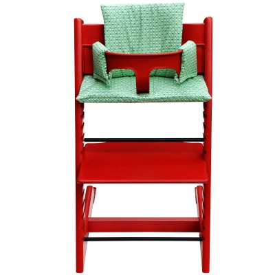 Assise philo green pour chaise haute stokke tripp trapp for Assise pour chaise haute