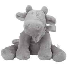 Peluche vache gris clair Lola Poudre d'�toiles (40 cm)  - Noukie's