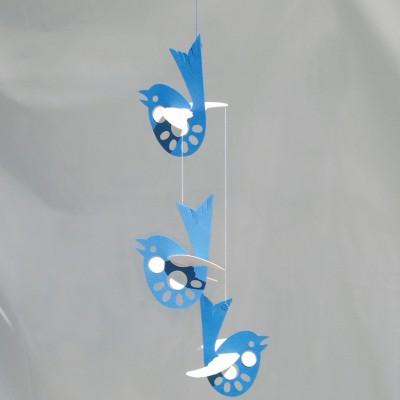 mobile en papier oiseaux livingly berceau magique. Black Bedroom Furniture Sets. Home Design Ideas