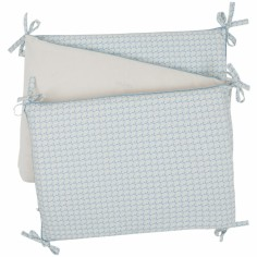 Tour de lit veloudoux Louis et Scott (pour lits 60 x 120 cm et 70 x 140 cm) - Noukie's