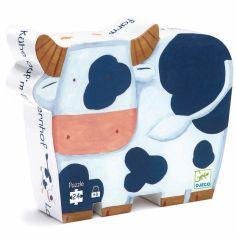 Puzzle Les vaches � la ferme (24 pi�ces) - Djeco
