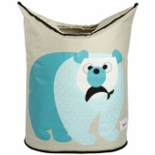 Panier � linge Ours polaire - 3 sprouts