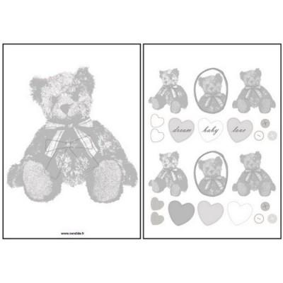 Achetez votre d co candide parmi notre de s lection - Stickers muraux repositionnables bebe ...