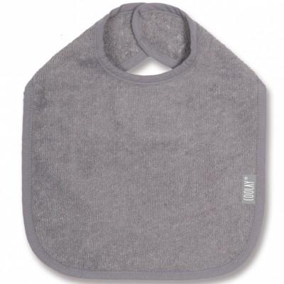 Bavoir gris foncé