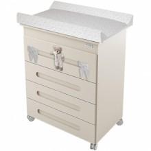 commode langer doudou beige avec baignoire micuna. Black Bedroom Furniture Sets. Home Design Ideas