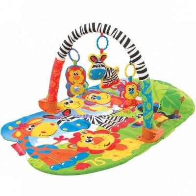 tapis d veil safari playgro berceau magique