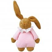 Lapin musical dodo pyjama rose (25 cm) - Trousselier