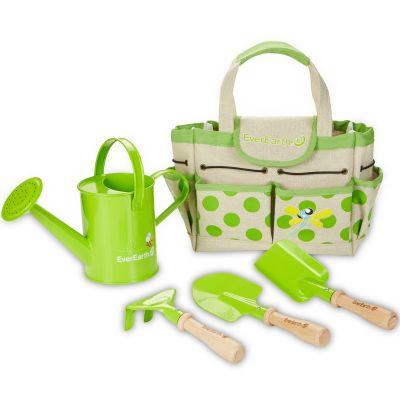 Set de jardinage avec sac et outils
