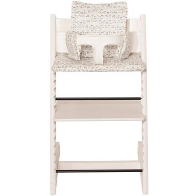 assise dots pour chaise haute stokke tripp trapp les r 234 ves d 239 s assise coussin chaise