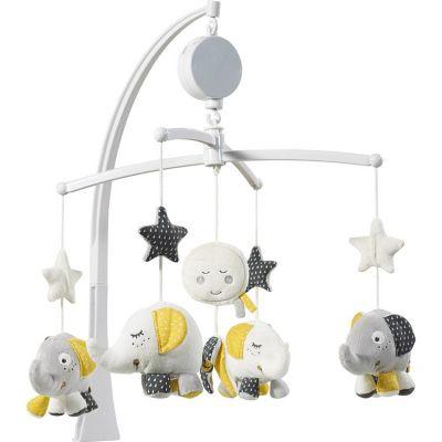 mobile musical babyfan sauthon baby dco berceau magique. Black Bedroom Furniture Sets. Home Design Ideas