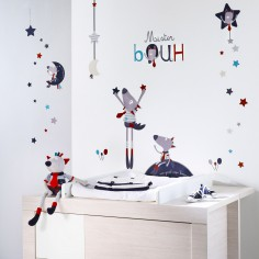 sticker mural bb chambre bb et enfant berceau magique. Black Bedroom Furniture Sets. Home Design Ideas