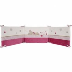 Tour de lit fille Victoria et Lucie (pour lits 60x120 et 70x140cm) - Noukie's