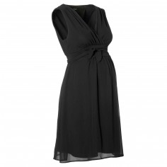 Robe de grossesse noire Liane (taille XS) - Noppies