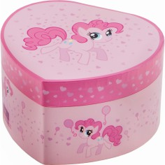 Bo�te � bijoux coeur My Little Pony Pinkie Pie - Trousselier