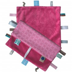 Doudou Sweet Dreaming Funky pink - Snoozebaby