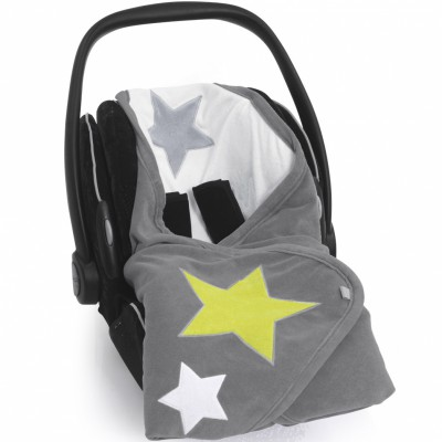 Couverture nomade biside stary pingu terry
