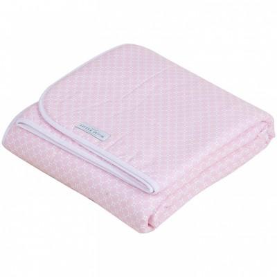 couverture de lit pure and soft sweet pink 110 x 140 cm. Black Bedroom Furniture Sets. Home Design Ideas