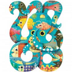 Pieuvre (350 pi�ces) - Djeco